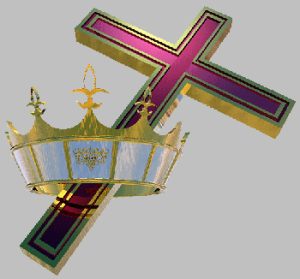 cross and crown color