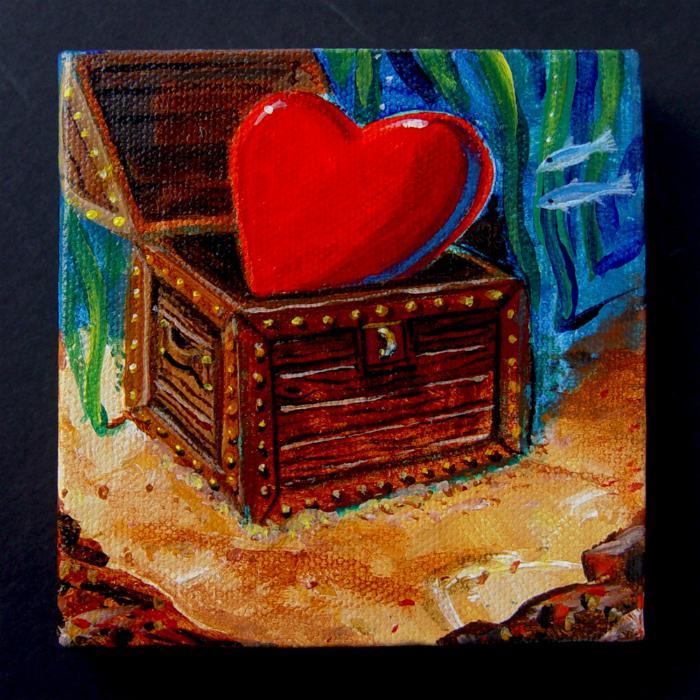 treasure heart in heaven